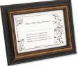 Bride's First Signature Framed Keepsake – Brown